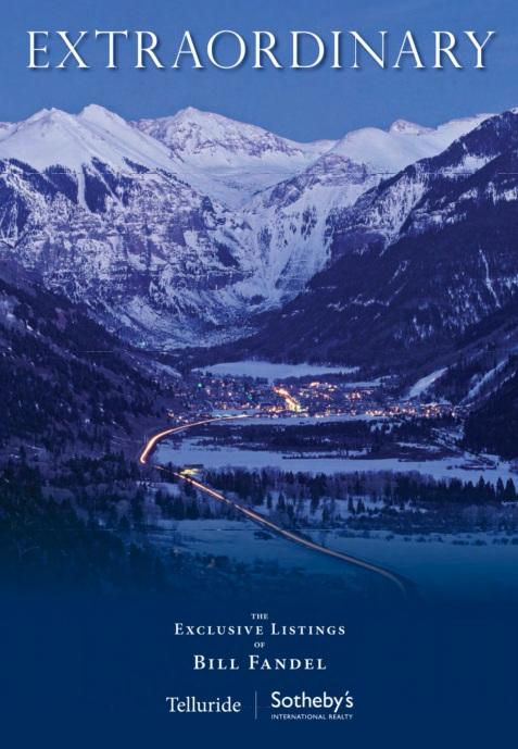 Winter/Spring Listing Portfolio - Bill Fandel Telluride Sotheby's International Realty
