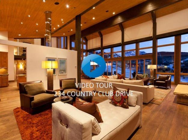 Tour the Stunning Architecture of 234 Country Club Drive Overlooking Telluride Ski Resort & Golf Club