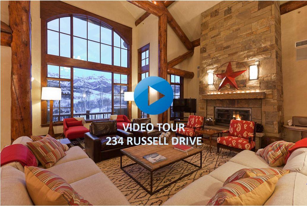 Tour Telluride's Premiere Ski & Golf Estate of 234 Russell Drive