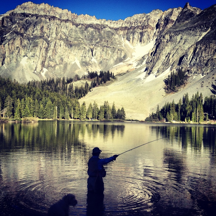 Inspired fly fishing at alta lakes telluride market watch for Telluride fly fishing