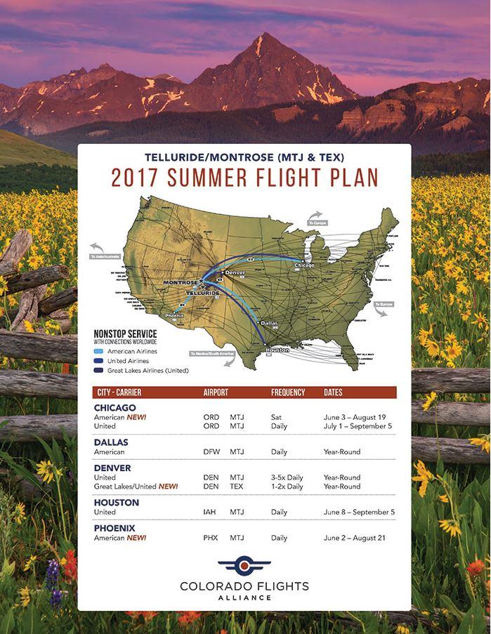 tex flight schedule summer 2017